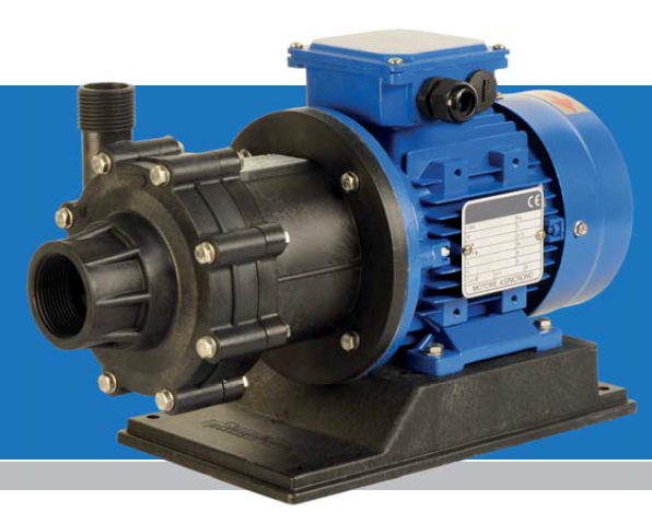 HTM PP/PVDF THERMOPLASTIC MAG DRIVE CENTRIFUGAL PUMPS