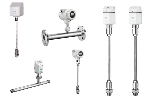 CS iTEC GAS FLOW / CONSUMPTION MEASUREMENT